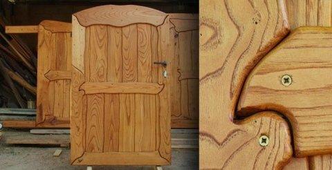 cancelli in legno Arzachena - Carta Legnami