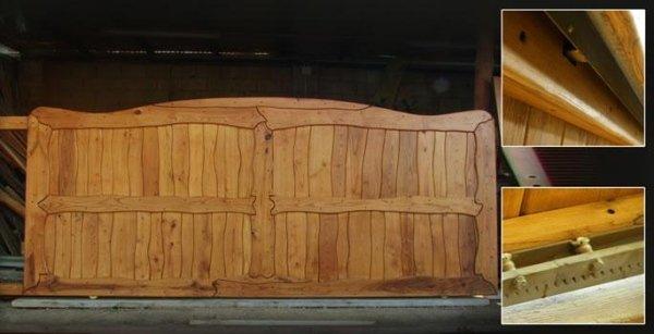 Cancelli in legno Sardegna