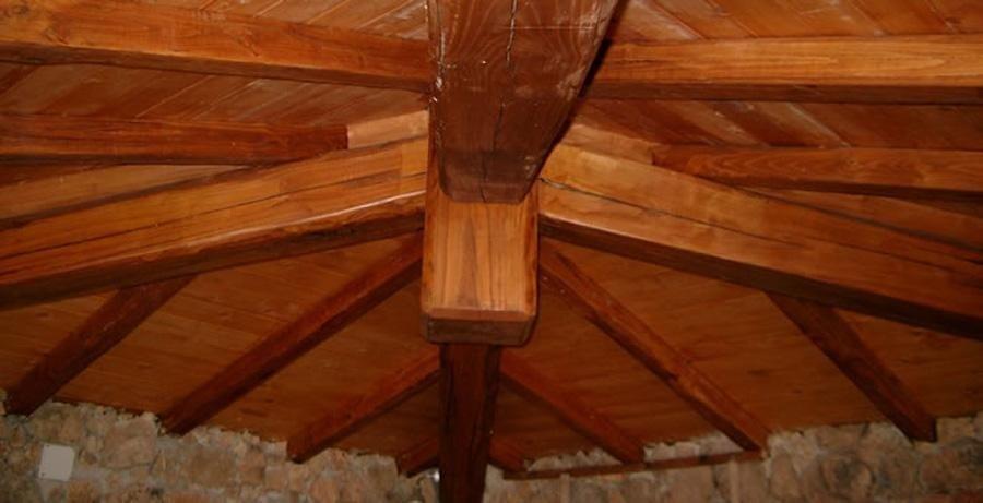 gazebo in legno