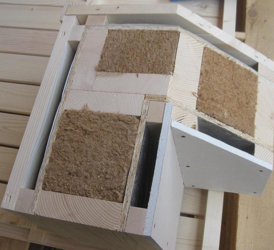 materiale casa in legno