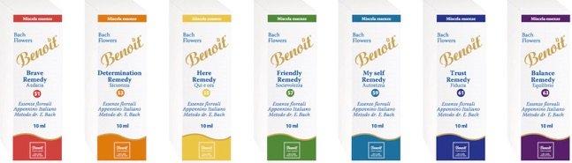 una brochure di Benoil
