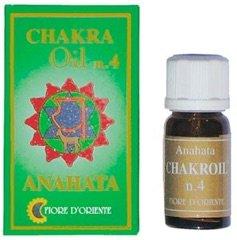 una bottiglia di Anahata Chakroil