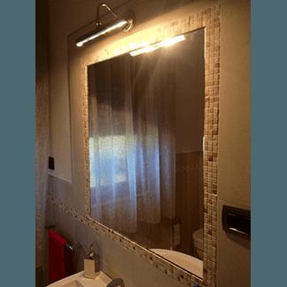 Specchio a incasso per bagno