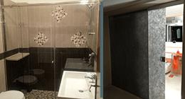 Box doccia e porta in vetro