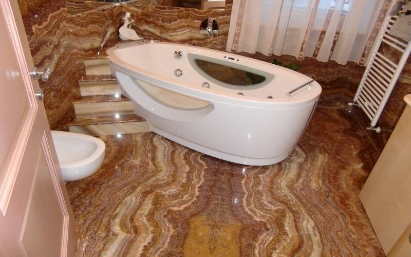 Pavimentazione bagno