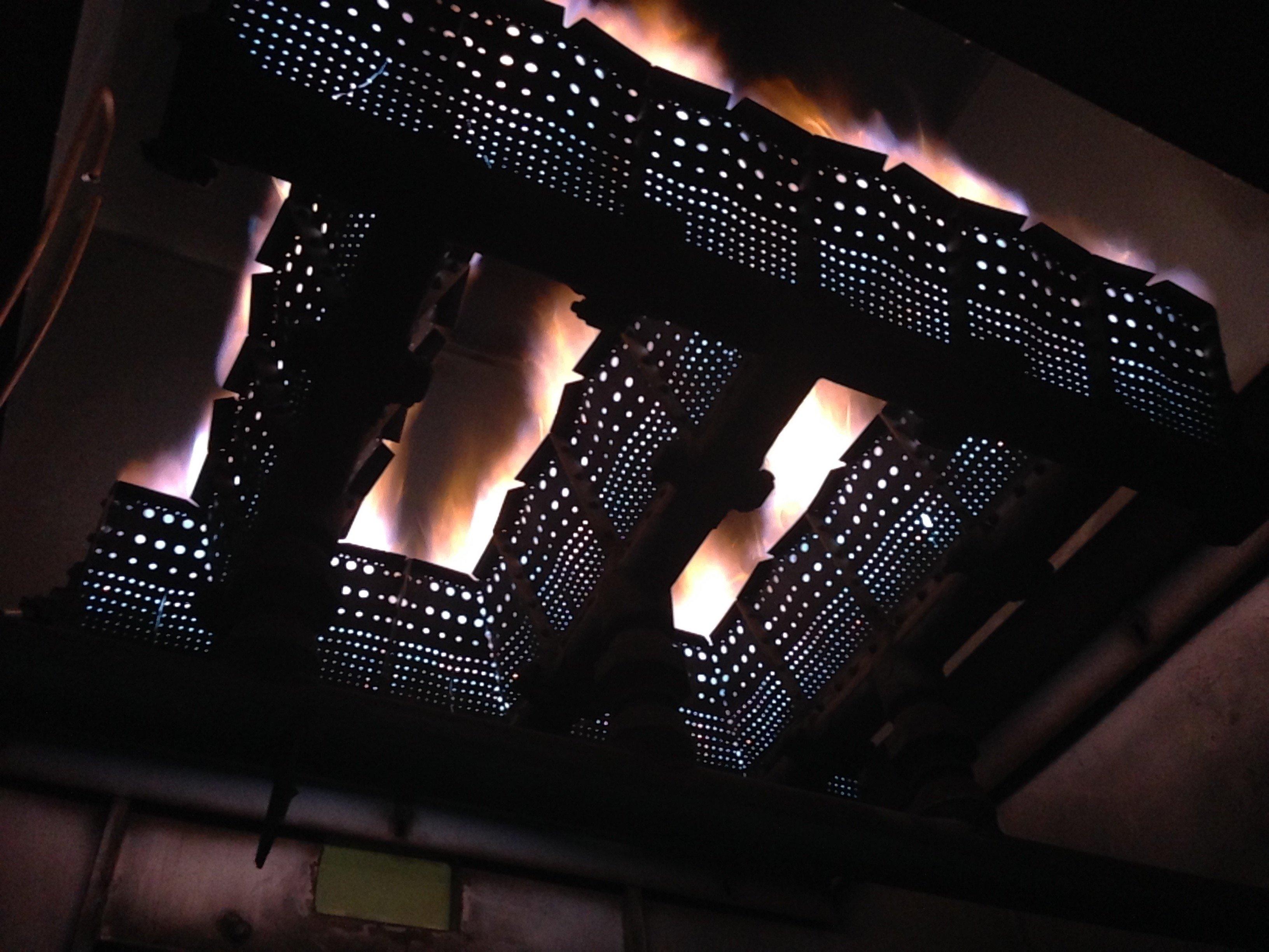 2x 14GJ/h Gas Air Heaters