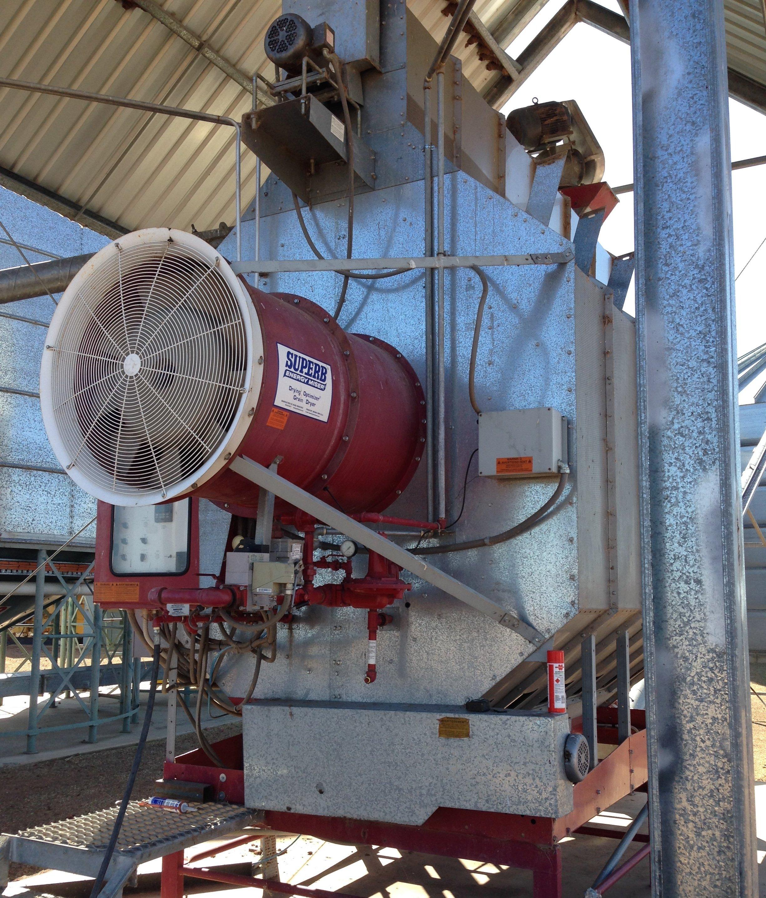 Remote Grain Dryer