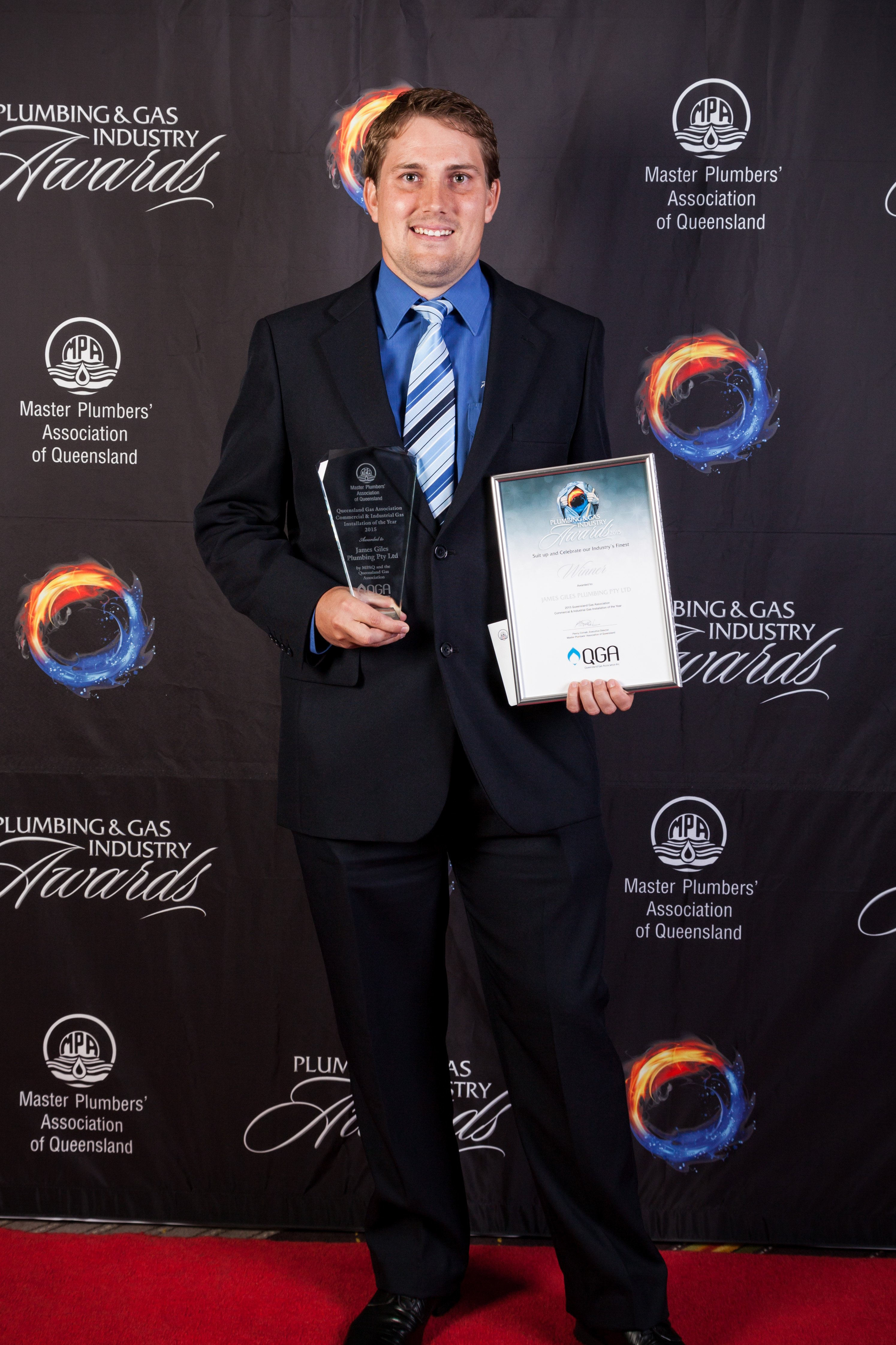 Justin Giles - 2015 Commercial Industrial Gas Install of the Year