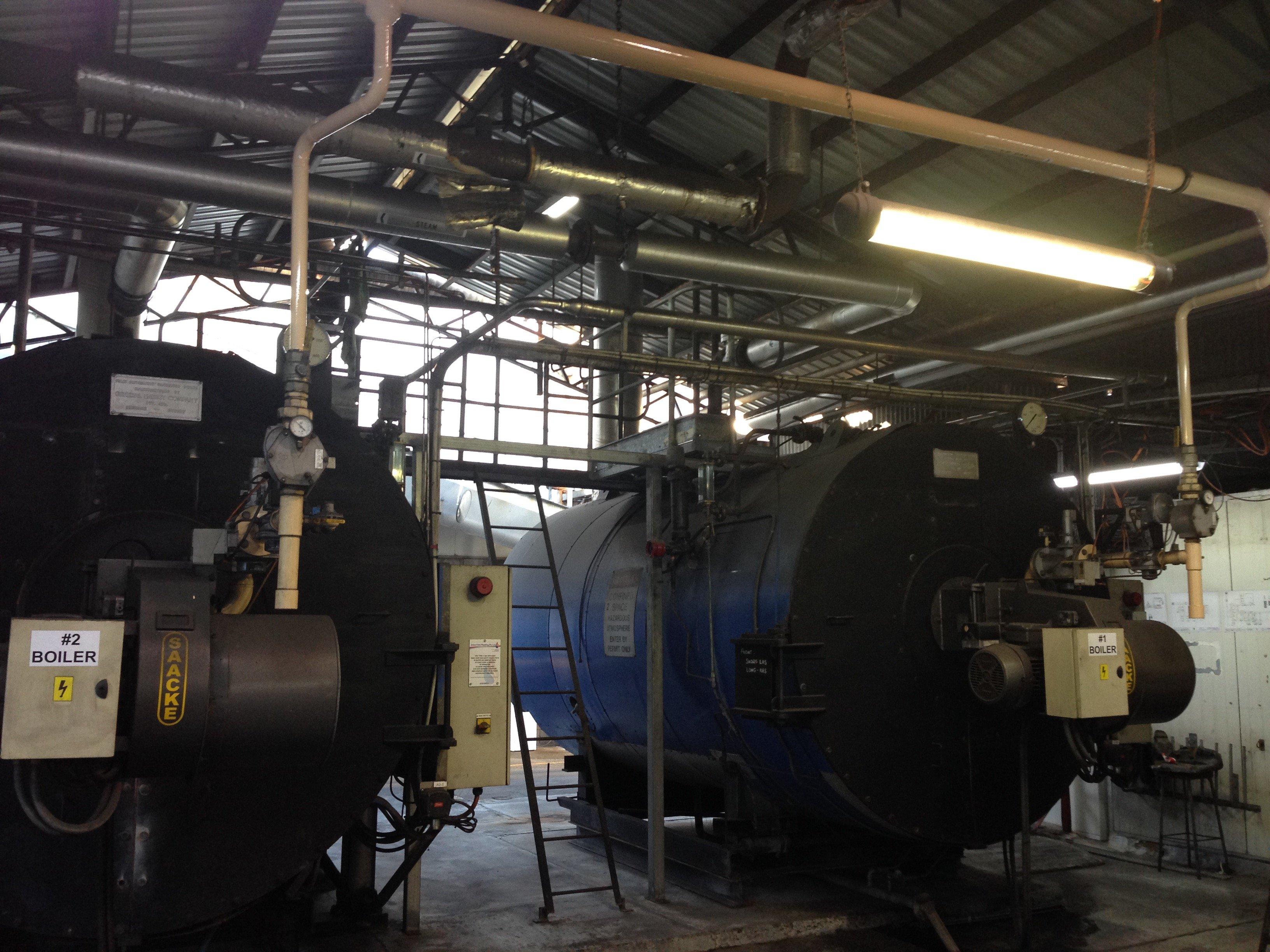 Boiler Plant rooms