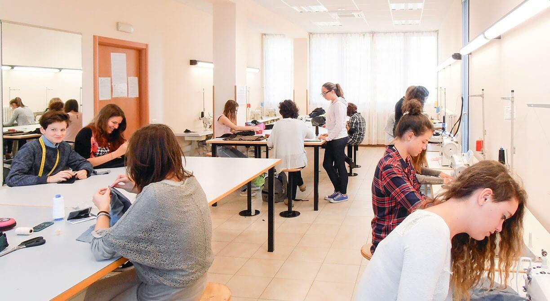 Classe di studenti a lezione
