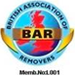 BAR removers logo