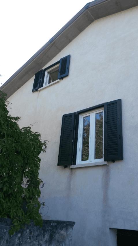 riqualificazione edificio con serramenti in pvc terni, viterbo,orvieto