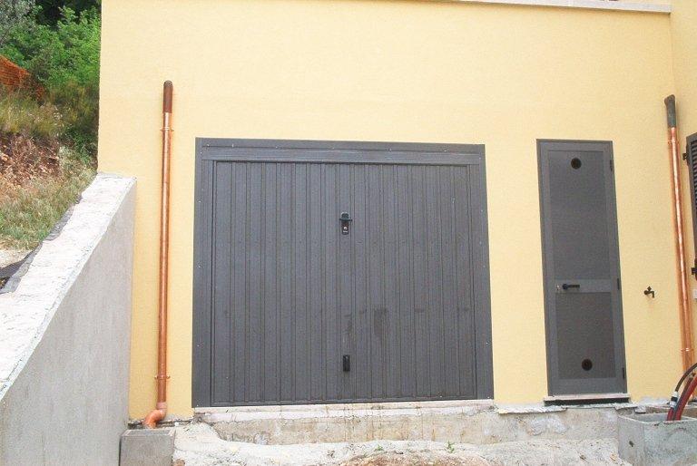 porta garage alluminio