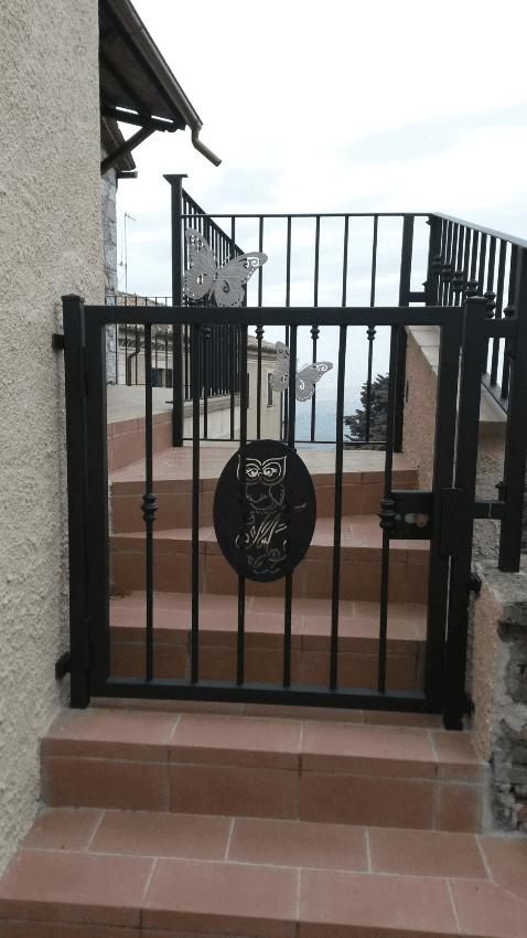 Cancelli in ferro battuto terni viterbo orvieto amelia