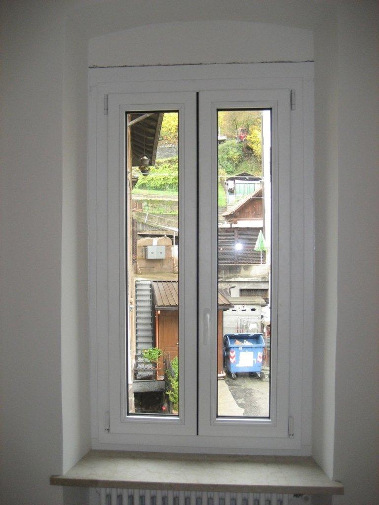 infisso alluminio legno finestra ponzio