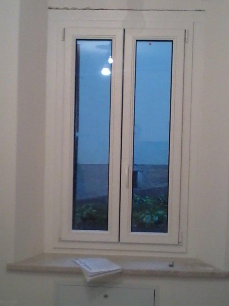 finestra alluminio-legno panorama