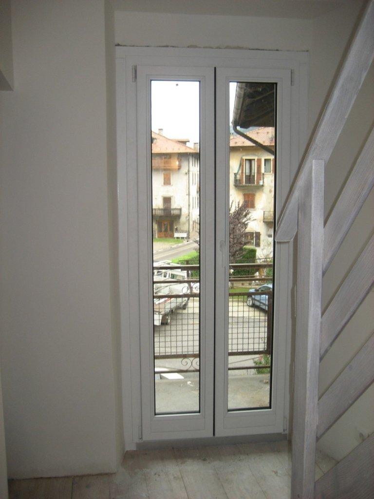 porta finestra alluminio legno