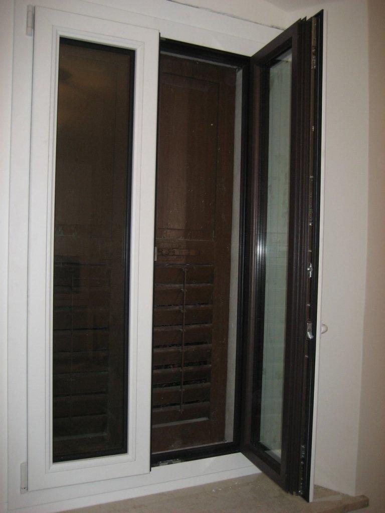 infisso finestra legno alluminio
