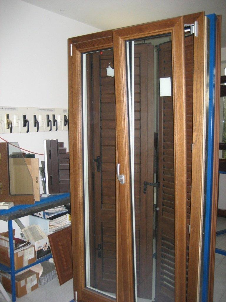 interno finestra alluminio legno