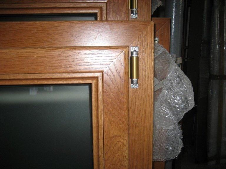 angolo finestra alluminio legno ponzio