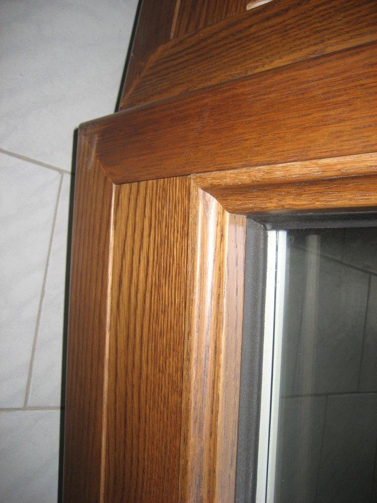 angolo alto alluminio legno