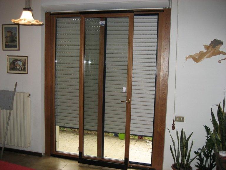 ampia finestra legno alluminio
