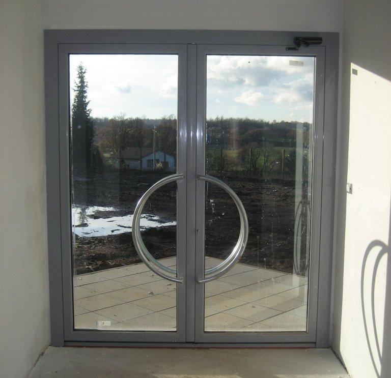 porta alluminio finestra isolante