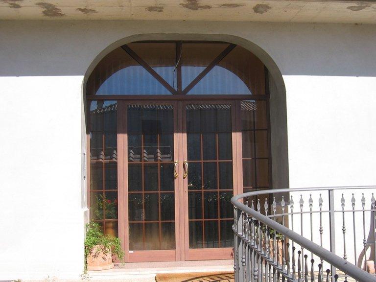 porta finestra vetrata alluminio Allco