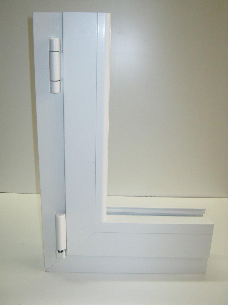 angolare finestra alluminio Allco export 68 tt