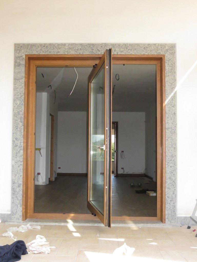 bilico Allco in alluminio finto legno