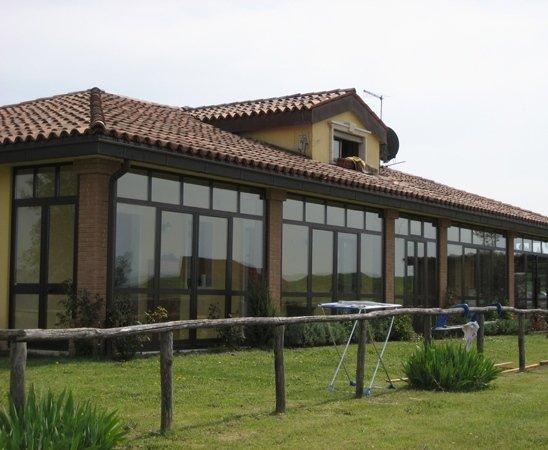 veranda alluminio terni
