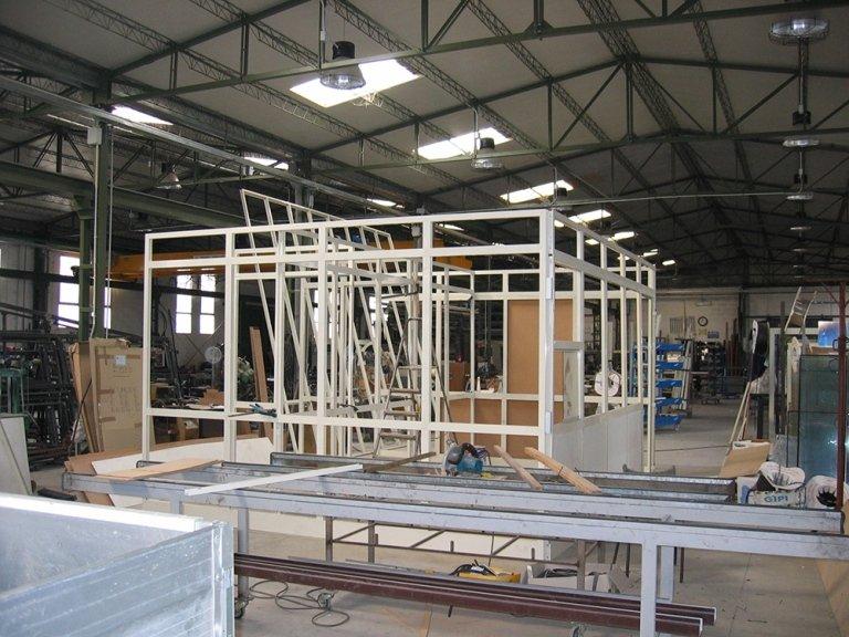 produzione veranda alluminio
