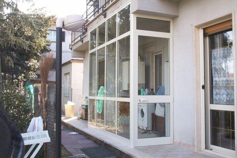 veranda alluminio esterna