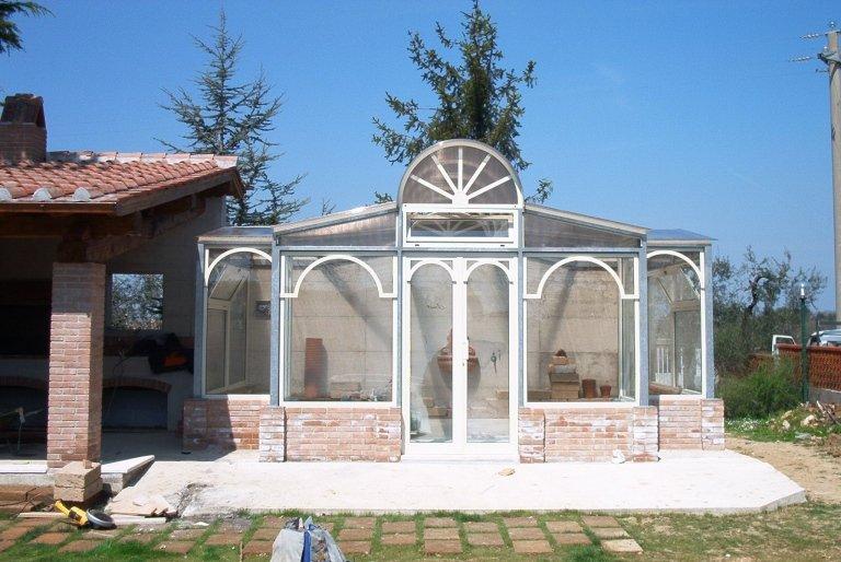 gazebo da giardino in alluminio terni