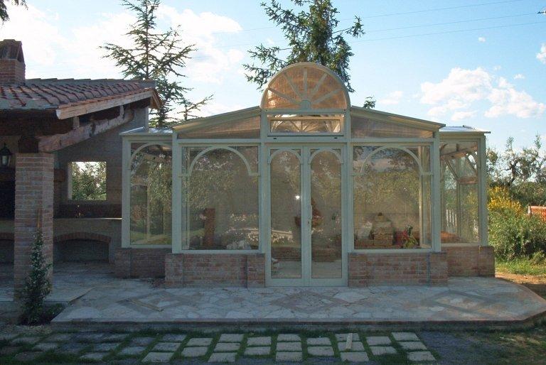 gazebo giardino alluminio