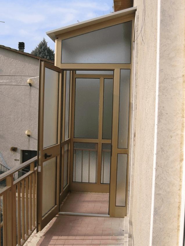 Dehor in alluminio e verande terni c i met - Veranda terrazzo ...