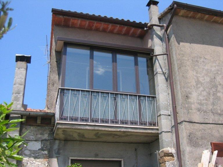veranda alluminio balcone