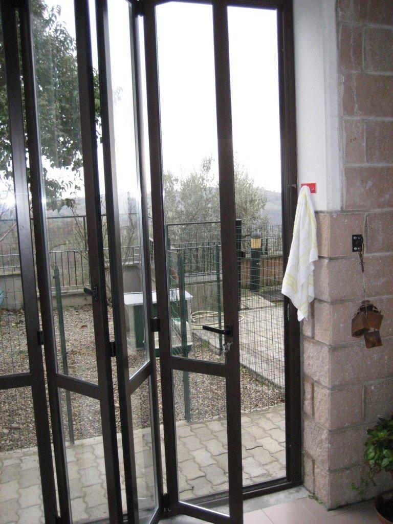 veranda apribile alluminio