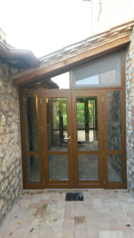 verande isolanti in alluminio legno