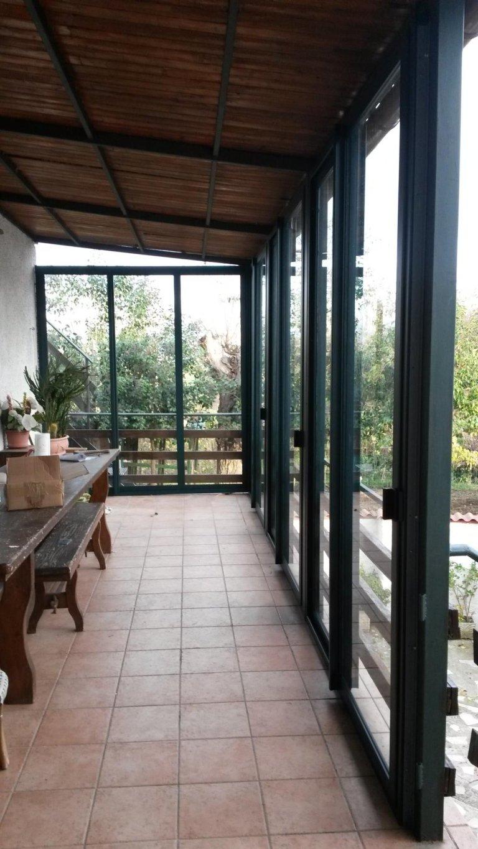 Veranda terni in alluminio scorrevole Terini Viterbo Orvieto Amelia