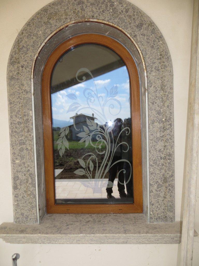 finestra pvc centinata terni