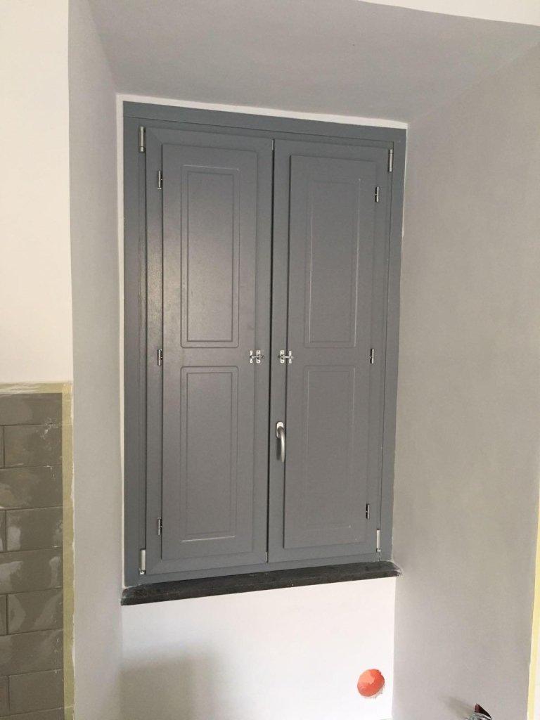 finestrapvc terni con finitura grigio classico