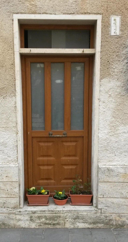 ingresso moderno in pvc portone terni