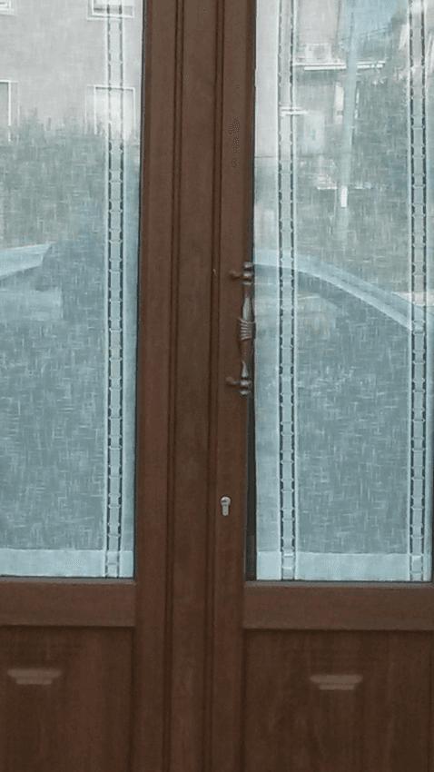 portone ad arco finto legno isolante Terni Viterbo Orvieto Amelia