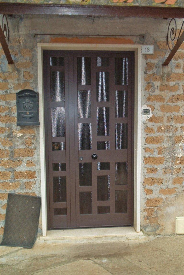 porta alluminio esterna Terni Viterbo Orvieto Amelia
