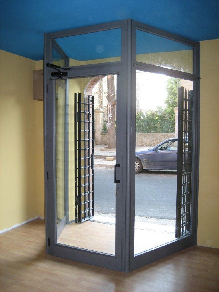 interno porta alluminio negozio Terni Viterbo Orvieto Amelia