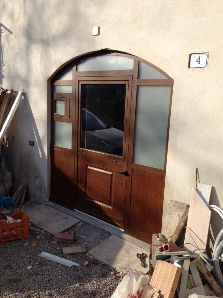porta in alluminio per rustico Orvieto