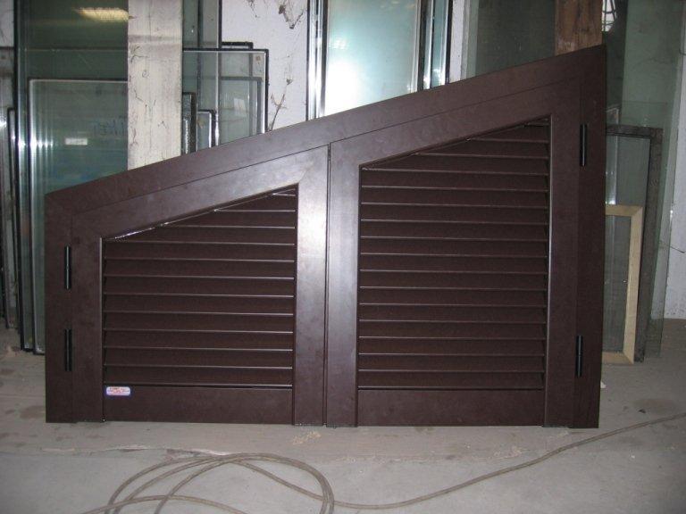 persiana alluminio angolare