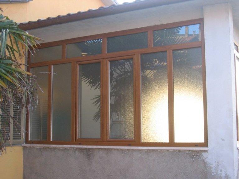 esterno veranda in pvc