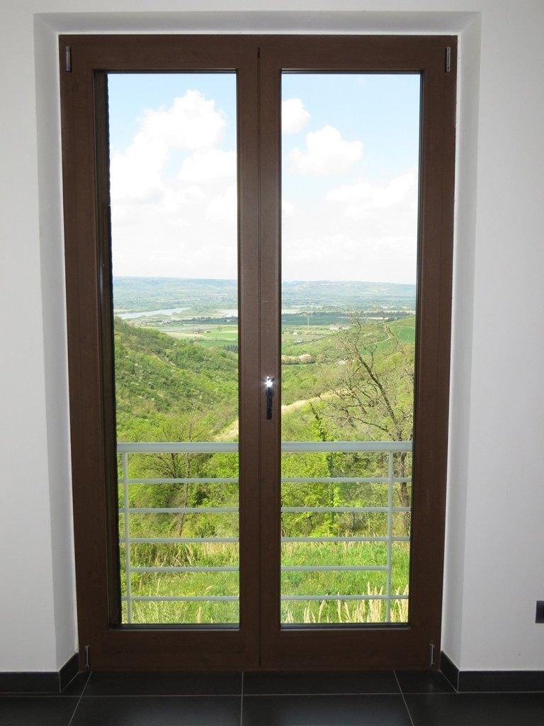 panorama finestra alluminio isolante